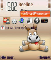 Emule theme screenshot