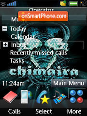 iPhone Black Chimaira es el tema de pantalla