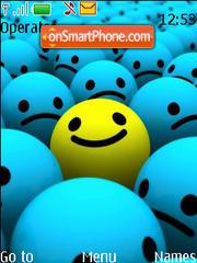 Happy es el tema de pantalla