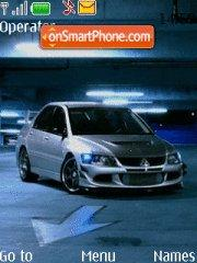Lancer Evolution Tuning theme screenshot