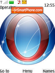 Opera Globe theme screenshot