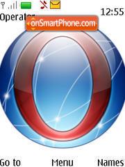 Capture d'écran Opera Globe thème