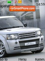 Range Rover Tuning theme screenshot