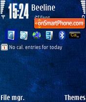 BlueN73v1 by M&G theme screenshot