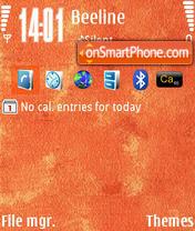 OrangeN73v1 by M&G theme screenshot