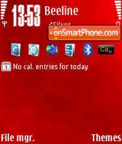 Скриншот темы RedN by M&G