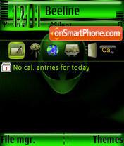 Aliane Animated s60v3 theme screenshot