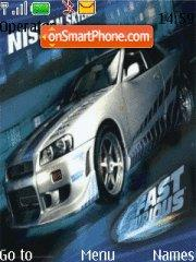 Скриншот темы Fast And The Furious 100%
