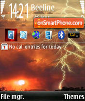 NewTornadoN73 theme screenshot