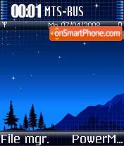 Vaio Night theme screenshot