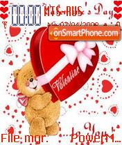Valentine Day 03 es el tema de pantalla