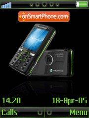 Sony Ericsson 08 theme screenshot
