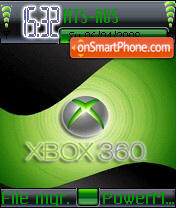 X-box theme screenshot