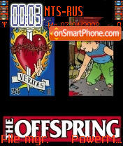 The Offspring es el tema de pantalla