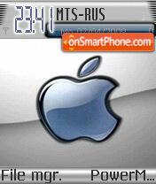 Blue Apple2 tema screenshot