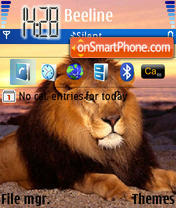 Lion 08 theme screenshot