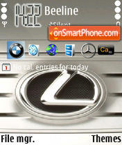 Lexus 05 theme screenshot