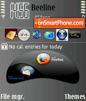 Firefox2 theme screenshot