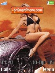 Avto i Devushki es el tema de pantalla