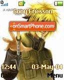 Naruto theme screenshot