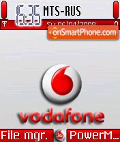 Vodafone 01 theme screenshot