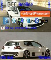 Скриншот темы VW-Golf-Gti-W12