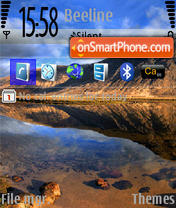 Sea v3N73 theme screenshot