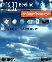CloudsN73 theme screenshot