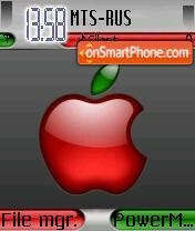 Red Apple theme screenshot