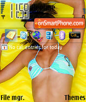 Alessandra Ambrosio 07 theme screenshot
