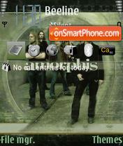 Amorphis Trigger tema screenshot