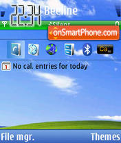 Xp 2010 theme screenshot