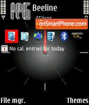Anclock2 theme screenshot