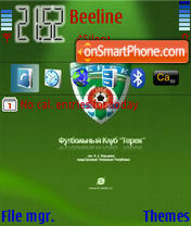 Terek theme screenshot