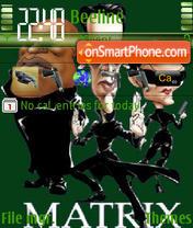 Скриншот темы Matrix 04