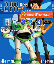 Toy Story 03 theme screenshot