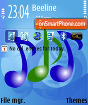 Music 07 theme screenshot