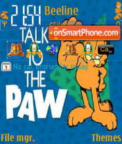 Talk To The Paw es el tema de pantalla