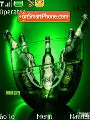 Tuborg Party theme screenshot