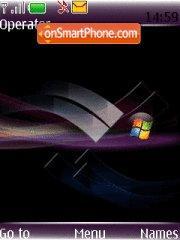 Vista Black 03 es el tema de pantalla