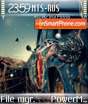 Abstract 13 tema screenshot