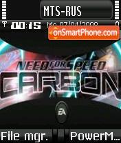 Nfs Carbon 06 es el tema de pantalla