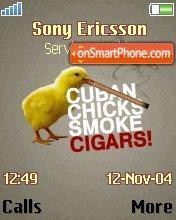 Cuban Chicks theme screenshot