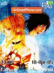 Death Note 01 es el tema de pantalla