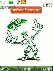 7up Fido Dido theme screenshot