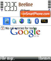 Google 03 theme screenshot