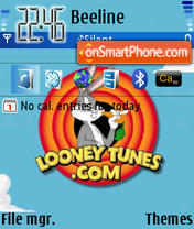 Looney Tunes 02 theme screenshot