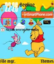 Pooh N Piglet. es el tema de pantalla