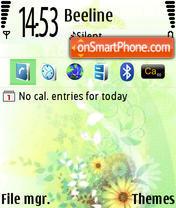 AmorN73 es el tema de pantalla