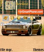 Ford GT TuningCar theme screenshot